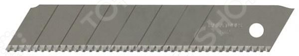 Лезвия для ножа FIT 10439Лезвия для строительных ножей<br>Лезвия для ножа FIT 10439 используются для резки и раскройки бумаги, обоев, лент и прочих тонких материалов. В случае потери лезвием режущих качеств следует просто аккуратно отломить испорченный сегмент. Предназначается для использования с ножами 10218-10323. Ширина лезвия 18 мм, в наборе 10 зубчатых лезвий криогенной закалки, выполненных из инструментальной стали.<br>