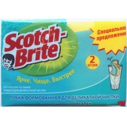 фото Губка для деликатной чистки Scotch Brite 2 шт.