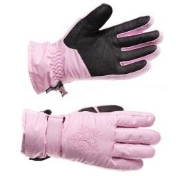 Купить Перчатки горнолыжные GLANCE Crystal (2012-13). Цвет: розовый
