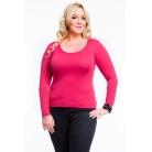 Фото Кофта Mondigo XL 436. Цвет: ярко-розовый. Размер одежды: 52