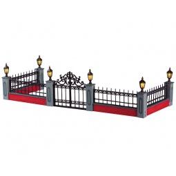 Купить Фигурка керамическая с подсветкой Lemax «Забор»