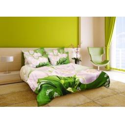 фото Комплект постельного белья с эффектом 3D Buenas Noches Belie Tulpani. Евро