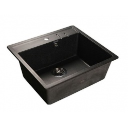 Купить Мойка кухонная GranFest Quadro GF-Q560. Цвет: черный