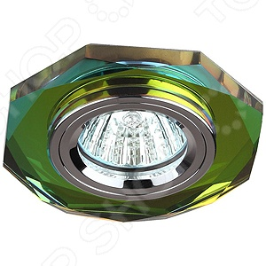 Светильник светодиодный встраиваемый Эра DK5 СH/MIXСпоты встраиваемые<br>Не секрет, что правильное освещение является важной деталью при оформлении интерьера помещений, так как позволяет визуально увеличить пространство и создать в квартире атмосферу уюта, гармонии и комфорта. Светильник светодиодный встраиваемый Эра DK5 СH MIX не просто наполнит вашу комнату мягким и теплым светом, а станет настоящим украшением интерьера, добавит ему изящества, изысканности и роскоши. Лампы такого типа часто используются в качестве дополнительных осветительных приборов для гостиных, спален и кабинетов. Светильник выполнен в современном стиле; его корпус изготовлен из алюминиевого сплава, а плафон из цветного хрусталя. Мощность лампы составляет 50 Вт.<br>