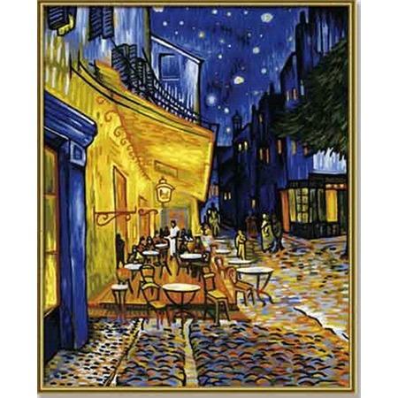Купить Набор для рисования по номерам Schipper «Ванг Гог «Ночное кафе»