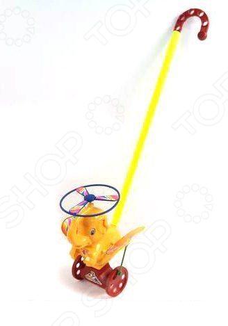 Каталка для малыша на палочке Shantou Gepai «Слоненок»