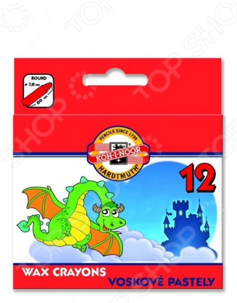 Набор мелков восковых Koh-I-Noor 8232012005 KS