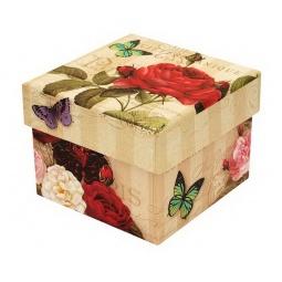фото Коробочка подарочная Белоснежка «Алая роза»