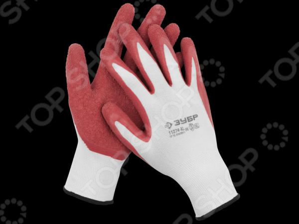 Перчатки садовые Зубр «Мастер» 11274