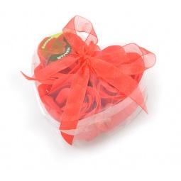 фото Цветы мыльные Банные штучки «Розы в Сердце» 3 штуки