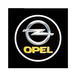 фото Светодиодные проекторы логотипа автомобиля Opel