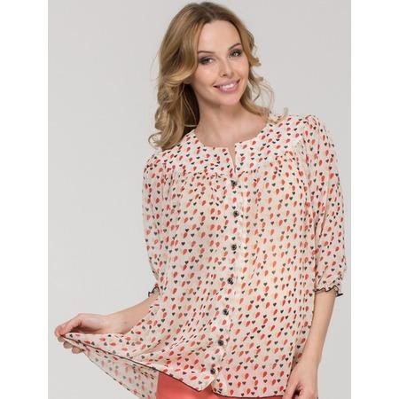 Купить Блузка для беременных Nuova Vita 1336.02. Цвет: красный