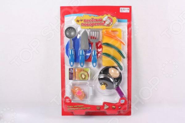 Игровой набор для девочки PlaySmart «Веселый поваренок» Р41346 набор игровой сковородка и посуда пластик
