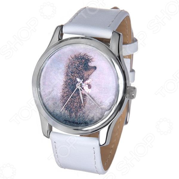 Часы наручные Mitya Veselkov «Ежик с котомкой» MV.White часы ежик с котомкой mitya veselkov часы механические