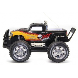 Купить Машинка на радиоуправлении Пламенный Мотор «Внедорожник Амфибия 4х4» 87594