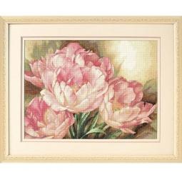 Купить Канва для вышивания Dimensions «Трио тюльпанов»