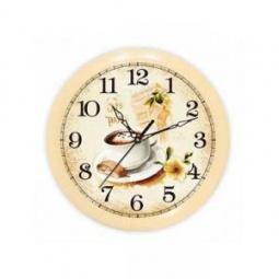 Купить Часы настенные Вега П 1-14/7-220 «Кофе. Франция»