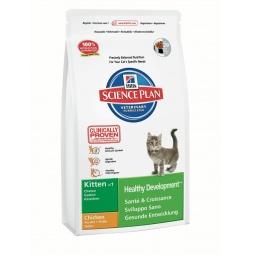 фото Корм сухой для котят Hill's Science Plan Kitten Healthy Development с курицей. Вес упаковки: 400 г