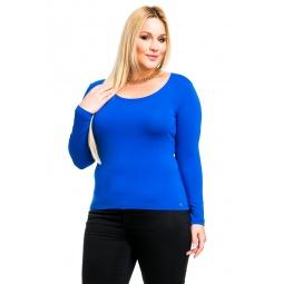 фото Кофта Mondigo XL 436. Цвет: синий. Размер одежды: 52