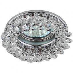 Купить Светильник встраиваемый потолочный Эра DK16 CH/WH