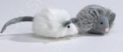 Игрушка для кошек Beeztees «Мышь Foxy». В ассортименте игрушка для кошек beeztees кот бандит