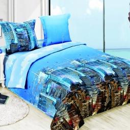 фото Комплект постельного белья Amore Mio Gorod. Poplin. 1,5-спальный