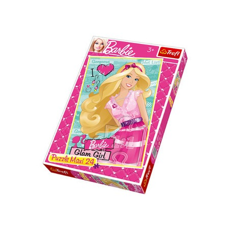 Купить Пазл 24 элемента Trefl «Радостная Барби»