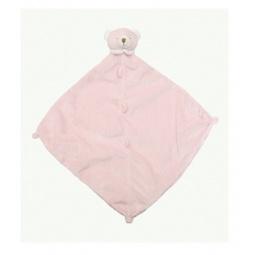 фото Покрывальце-игрушка Angel Dear Медведь. Цвет: розовый