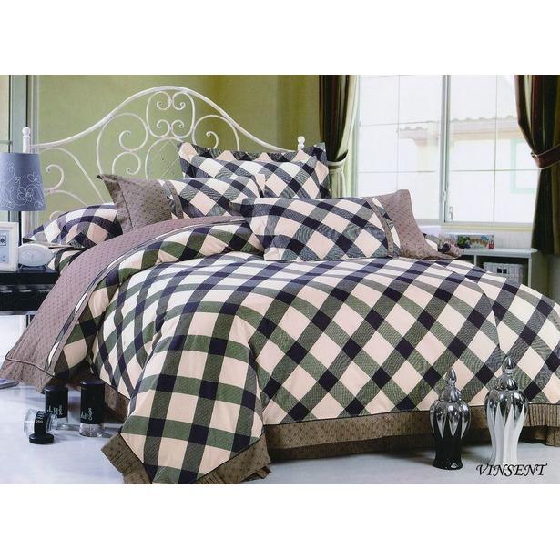 фото Комплект постельного белья Jardin Vinsent. Евро