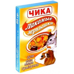 Купить Лакомство для грызунов ЧИКА «Зернышки»