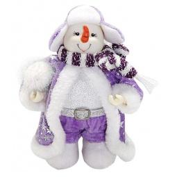 фото Игрушка новогодняя Новогодняя сказка «Снеговик» 949191