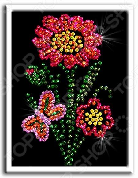«Цветочек» 48352 Мозаика из пайеток Волшебная мастерская «Цветочек»