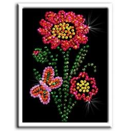 Купить Мозаика из пайеток Волшебная мастерская «Цветочек»