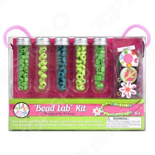 Набор для создания украшений Bead Bazaar «Изумрудная дымка» игровой набор bead bazaar набор дл творчества 1466