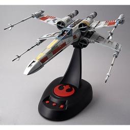 фото Модель сборная Bandai со светом и звуком «Истребитель» X-Wing Fighter