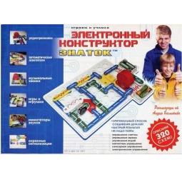 Купить Конструктор электронный Знаток «320 схем»