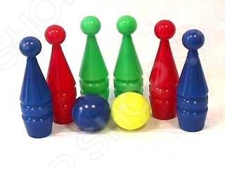 Набор для игры в боулинг Совтехстром «Кегли 6+2» активные игры спектр кегли спектр