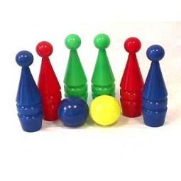 Купить Набор для игры в боулинг Совтехстром «Кегли 6+2»