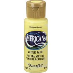 фото Краска акриловая DecoArt Премиум Americana. Цвет: ананасовый