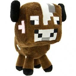 Купить Мягкая игрушка Minecraft Детеныш грибной коровы
