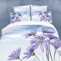 фото Комплект постельного белья Domomania Chicory. Satin Fotoprint. 2-спальный
