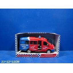 Купить Машина инерционная Joy Toy «Газель 3221 Спорт» Р40527