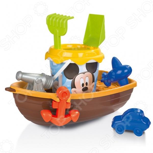Набор для игры в песочнице Smoby «Лодка» Mickey