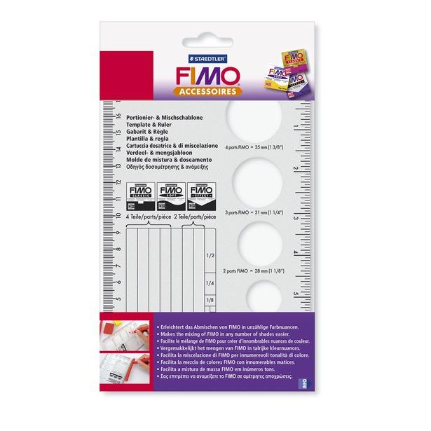 фото Линейка для смешивания глины Fimo 8700-06