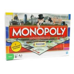 Купить Настольная игра Hasbro Монополия. Россия