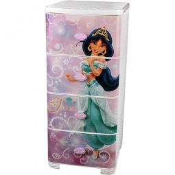 фото Комод 4-х секционный плетеный Альтернатива Disney «Жасмин»