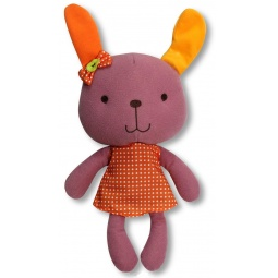 фото Мягкая игрушка со звуком 1 Toy «Заяц» Т57138-3