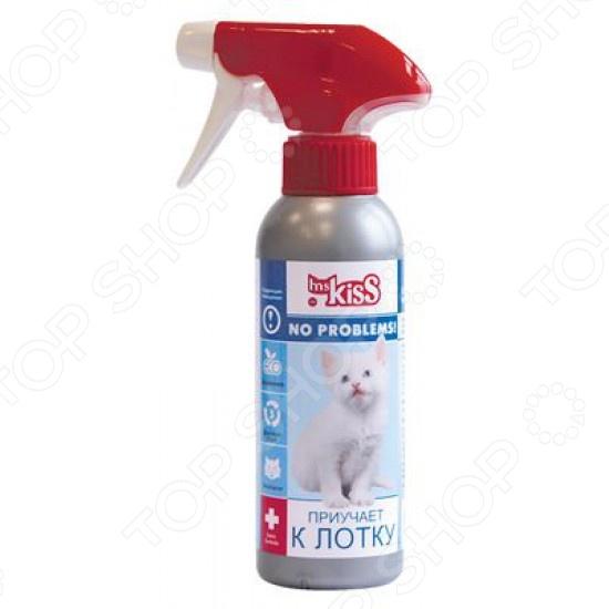 Спрей для коррекции поведения кошек Ms.Kiss «Приучает к лотку» спрей для коррекции поведения animal play отучение гадить для собак и кошек 200 мл