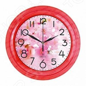 Подробнее о Часы настенные Вега П 6-1-104 «Цветы» часы настенные вега п 1 6 6 16 п 1 6 6 16