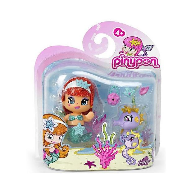 фото Кукла с аксессуарами Famosa «Pinypon-русалочка и морской конек»